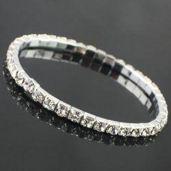 Magnifique bracelet de drainage unique diamant
