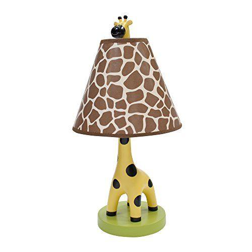 Lambs & Ivy Peek A Boo Jungle Lamp  - fun giraffe lamp for the nursery  #giraffe #baby