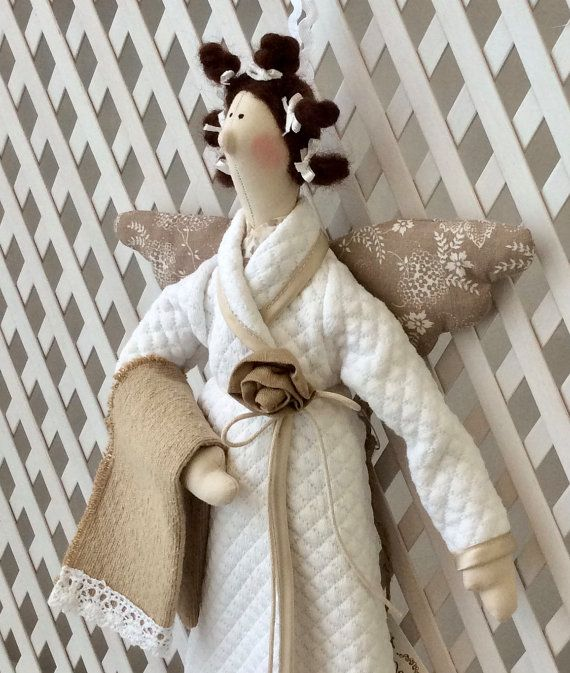 Tilda Bathroom Angel by TildaTime on Etsy