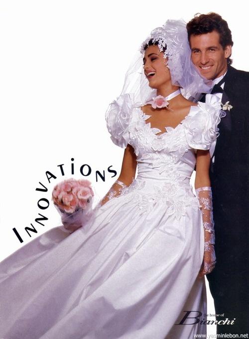 House of Bianchi, 1987 Model: Yasmin Le Bon | [1980s ...