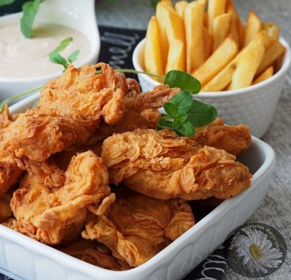 Kulinarne Szaleństwa Margarytki: Pikantne stripsy czyli kurczak a'la KFC
