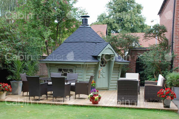 The 50 best images about bbq huts longsight nursery for Garden hut sale