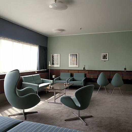 オープン当時の雰囲気がそのままの姿で残されているSASロイヤルホテル伝説の606号室。