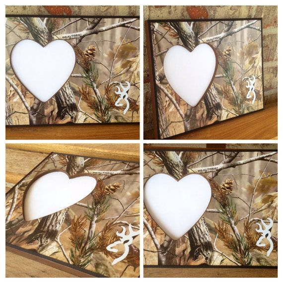 Camo Picture Frame on Etsy, $9.00