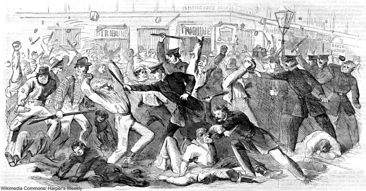 One of The Largest Civil Disturbances in American History: The Draft Riots of 1863