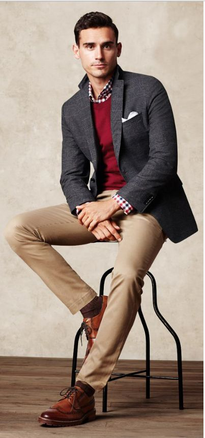 Relaxed business outfits
