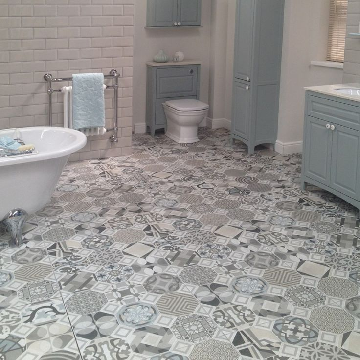 The Flow Tile Floor Tiles Are A Large Square That Compiles Diffe Geometric Patterns Vintage Look