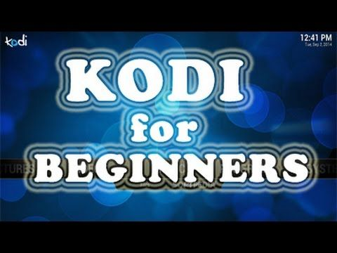 Kodi for beginners video 8 - YouTube