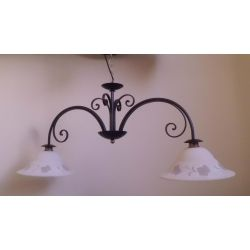 Wrought Iron Chandelier. Customize Realisations. 218