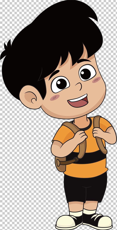 Cartoon Illustration Png Arm Balloon Cartoon Black Hair Boy Boy Cartoon Cartoon Illustration Cartoon Student Cartoon