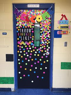 The Cutest Kindness Door Decorations Throw Kindness Like