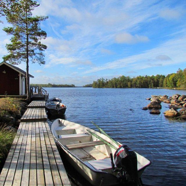 Ferienhäuser in Schweden www.ferienhaus-schweden-hsf.com #Schweden #Sweden…