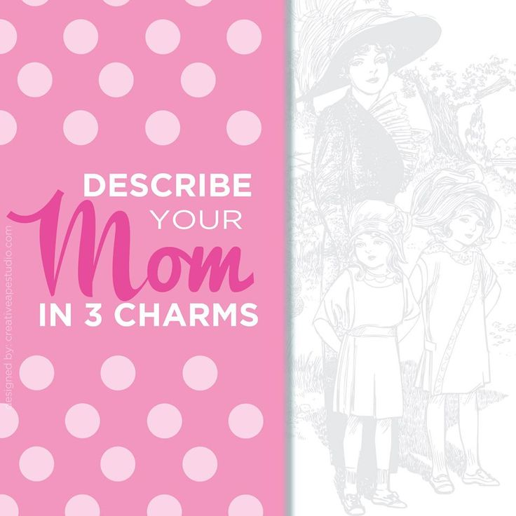Mom (3 Charms) - Origami Owl® Social Media Graphic
