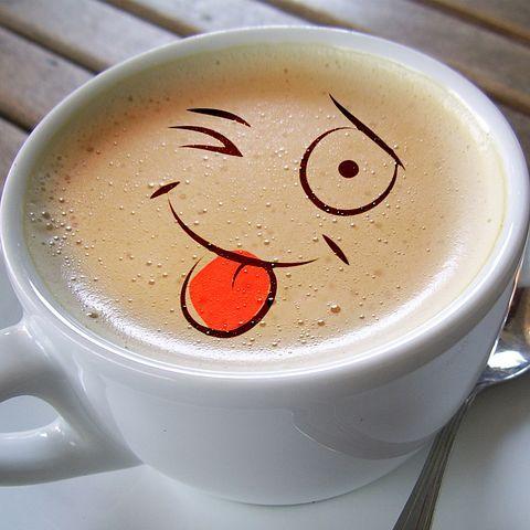 Csésze, Kávé, Hab, Café Au Lait
