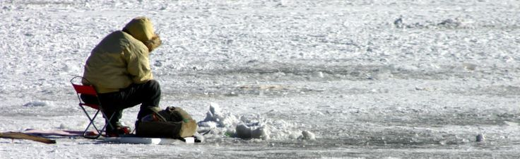 Deep Creek Lake Ice Fishing