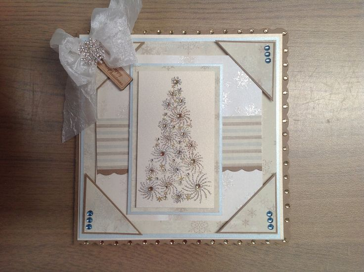 Using stamps by Chloe starry tree