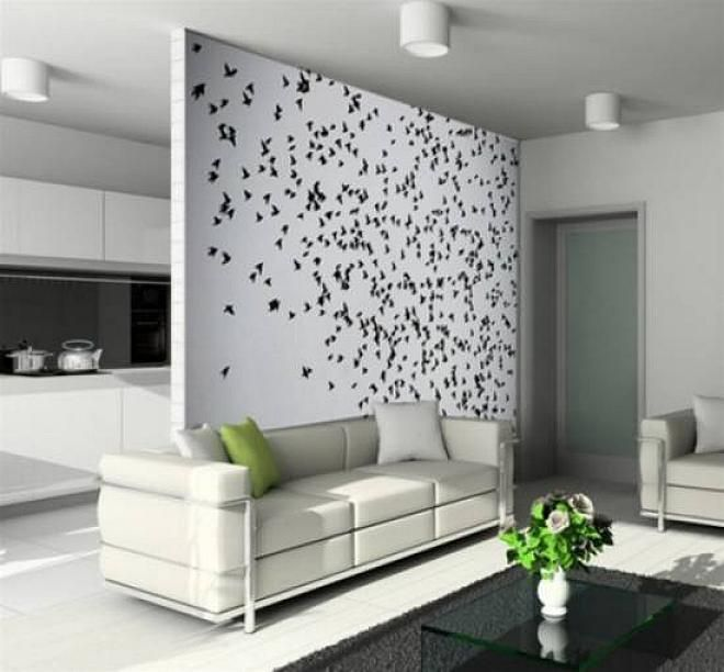elegant living room accent wall paint ideas 2013 - Interior Wall Painting Designs