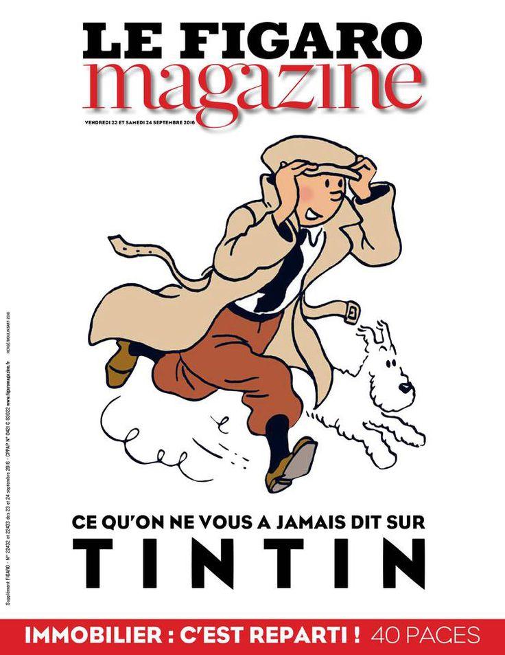 Le Figaro magazine - Tintin