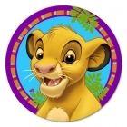 Lion King Dessert Plates (8)