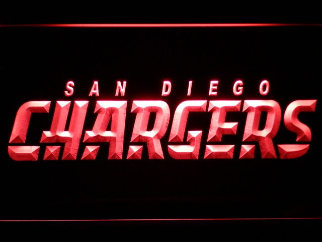 San Diego Chargers LED Neon Sign - Legacy Edition