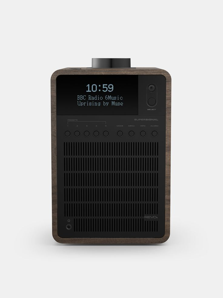 REVO , Super Signal Walnut  #walnut #shopigo #shopigono17 #ss16 #conceptstore #onlinestore #onlineshopping #buyonline #onlineconceptstore #technology  #revo #radio
