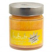 Mermelada de naranja al ron y canela. Bubub El ron caribeño y la canela en rama le dan un toque cálido y aromático que combina extraordinariamente bien con una naranja valenciana de gran calidad.