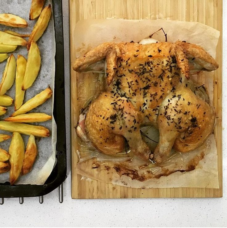 '45 minute' Herb Roasted Chicken