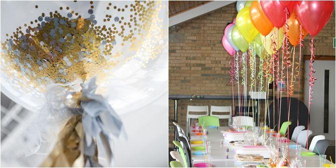 Salve a decoração da sua festa com balões - 02