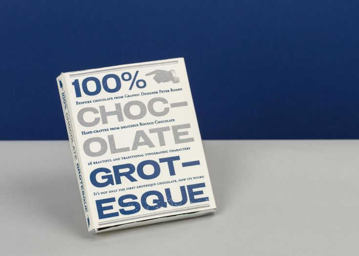 Chocolate Grotesque by Peter Roden