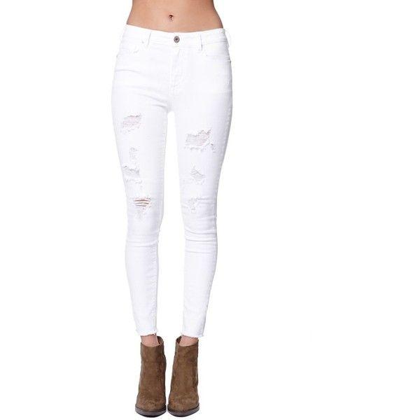 White high waisted jeans에 관한 Pinterest 아이디어 상위 25개 이상 ...