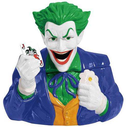 all cookie jars | Batman The Joker Cookie Jar - Westland Giftware - Batman - Cookie Jars ...