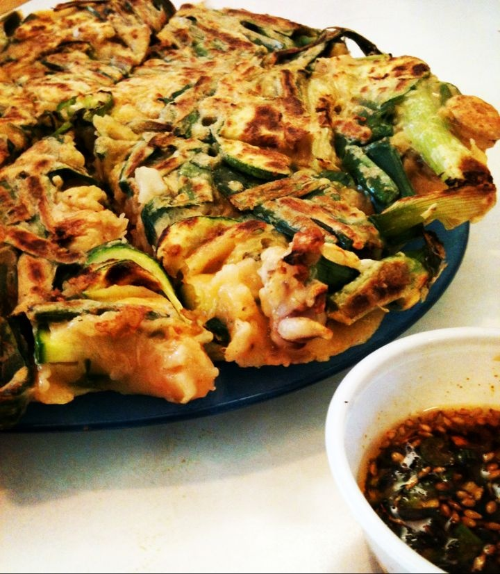 how to make pajeon batter