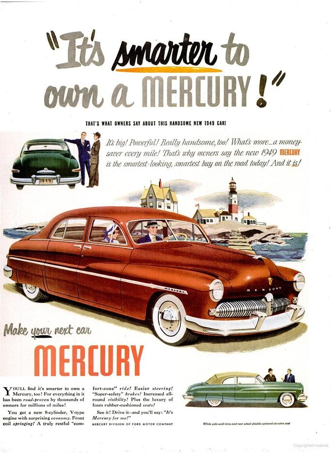 1949 Mercury.  THIS IS THE CAR THAT I TOOK APART AND REBUILT WITH MY FRIEND BARRY ANTENSEN.  IT TOOK US BETTER THAN 2 YEARS TO DO IT.  I WAS 13-15 YEARS OLD AT THE TIME.  HIS FATHER LET US TAKE OVER THE FAMILY GARAGE.  Get a load of the suicide rear doors.