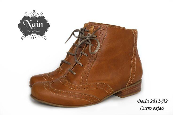 #Botin #shoes #lether #100% #chile #zapatos #botines #nain #zapateria #oxford #cuero