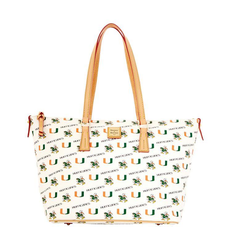 NCAA Miami Zip Top Shopper Style# A18MMWH