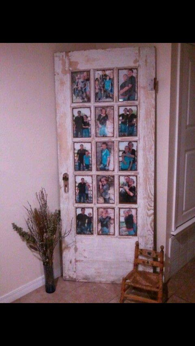 M s de 25 ideas incre bles sobre marcos de ventanas for Puertas recicladas