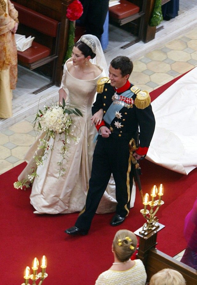 Mary Donaldson Crown Prince Frederik Of Denmark May 2004