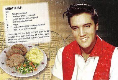 Elvis Meatloaf Recipe, yum!  #knife #knives www.hesslerworldwide.com