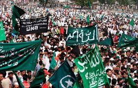 Slogans of Kashmiri freedom fighters