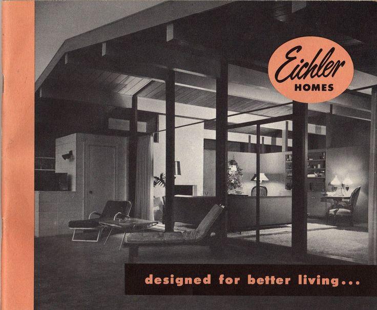 Eichler Homes catalogue