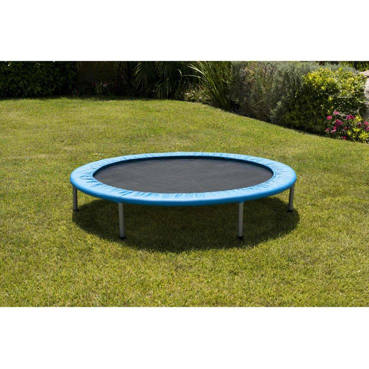38 Inch Mini Band Trampoline Safe Elastic Exercise Workout Fun Kids Jump Play #Generic