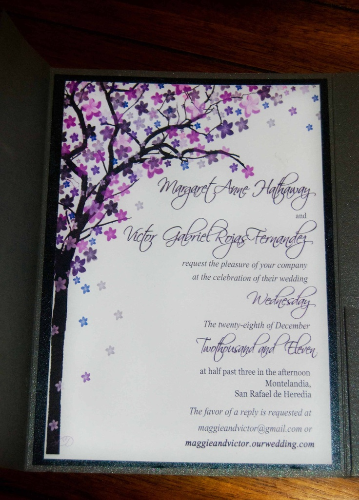 85 best Wedding invitation templates images on Pinterest ...