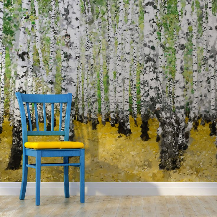 Les 25 meilleures id es de la cat gorie papier peint bouleau sur pinterest tapisserie d 39 arbre - Interieur eclectique grove design ...