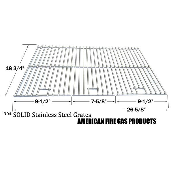 3 PACK STAINLESS STEEL COOKING GRID FOR OUTDOOR GOURMET BQ06043-1, CHARBROIL 463210310, BBQ PRO BQ05041-28, IGS-2504 GAS GRILL MODELS Fits Compatible Outdoor Gourmet Models : BQ06043-1, BQ06WIC Read More @http://www.grillpartszone.com/shopexd.asp?id=34741&sid=34051