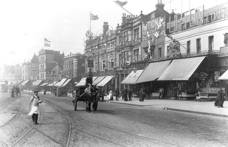 Stratford Broadway. Mafeking Day. 21 May 1900.
