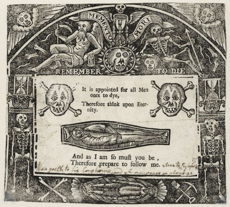 Memento mori, ca. 1640.