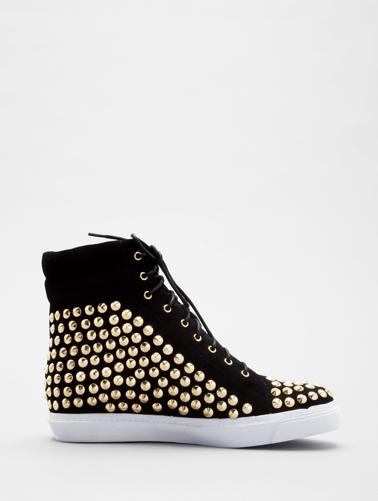 "Jeffrey Campbell ""Alva"" Hi Top with Studs"