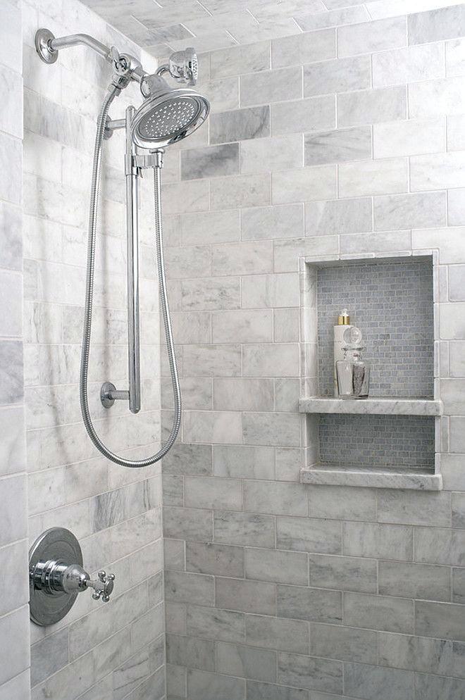 Grey White Bathroom Tiles Shower Tile Designs And Add Modern Bathroom Small Walk In Vertical Shower Tile Designs Shower Tile Tile Bathroom Bathroom Shower Tile