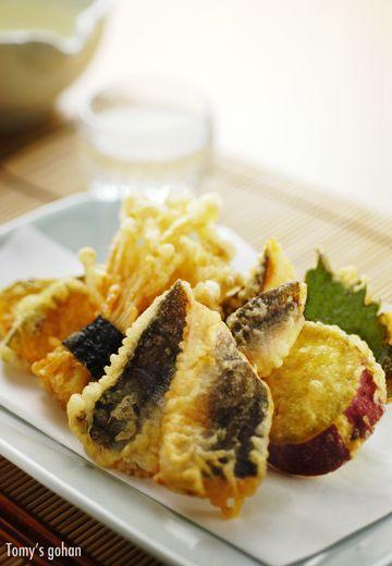 Tempura 魚と野菜の天ぷら