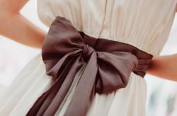 dress: Fashion, Style, Wedding, Dresses, Bows